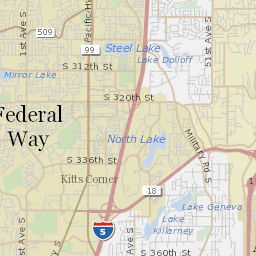 Federal Way School District Map