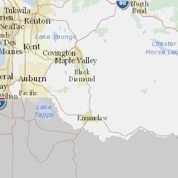 Min Dot Traffic Map.King County My Commute